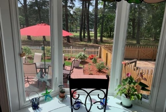 New Vinyl Bay Window Updates Virginia Beach Kitchen