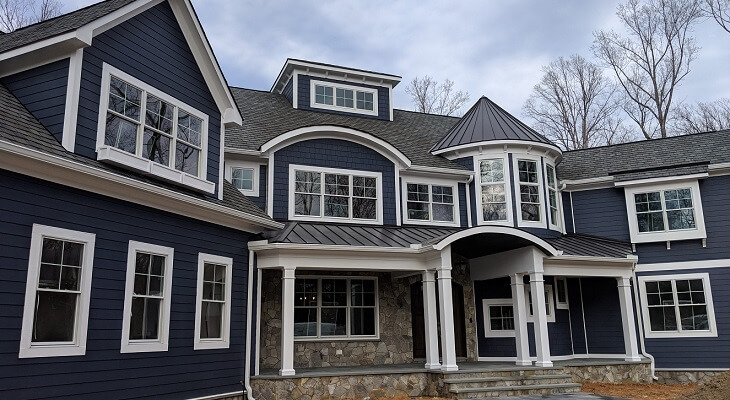 Traditional Style Meets Modern Features with Wood Double-Hung Windows