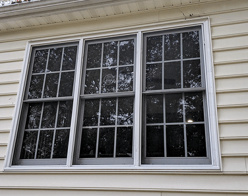 before image of virginia home with new windows
