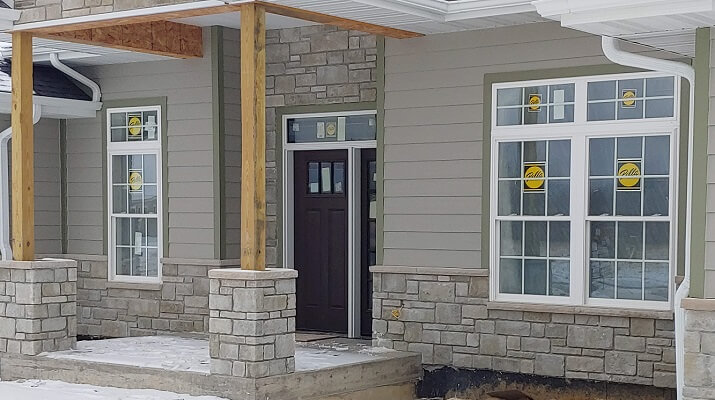 Energy Efficient Vinyl Windows in Beautiful Dubuque Home