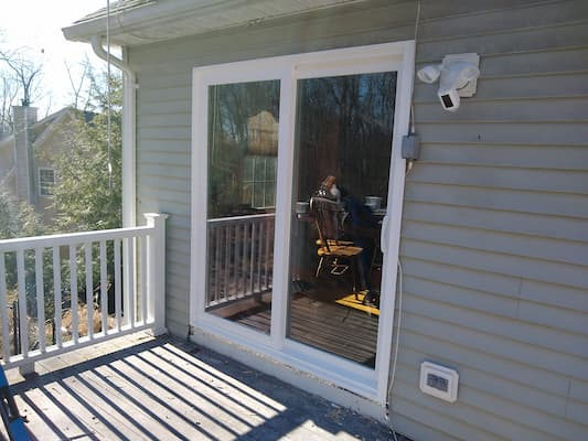 New Patio Door & Kitchen Window Upgrade Belchertown Home