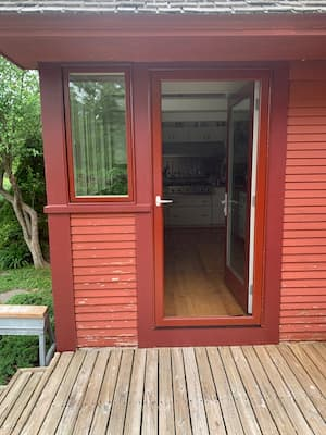 Red Door & Window Replacement