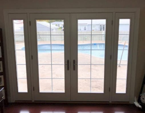 New Patio Door Creates Indoor-Outdoor Connection