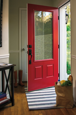 Steel Entry Doors steel replacement entry doors - pella retail