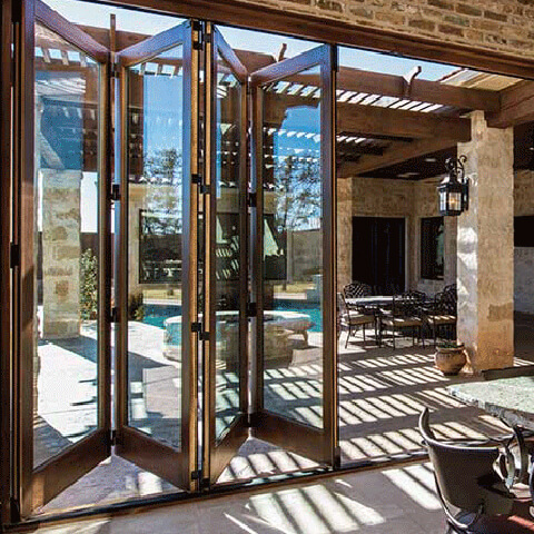 Chicago Bifold Patio Doors