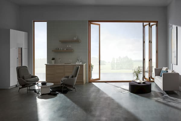 Multi-panel bifold doors