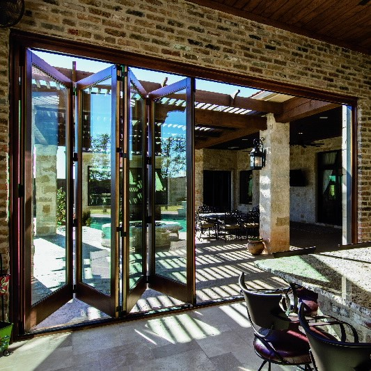Fort Worth Bifold Patio Doors