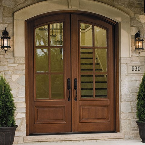 Kansas Wood Entry Doors