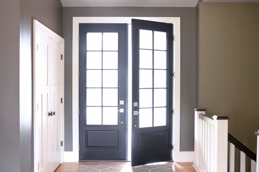 Black Entry Doors