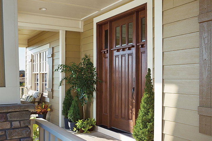 Wood Entry Doors Offer Traditional Elegance Pella Windows Doors Of Kansas