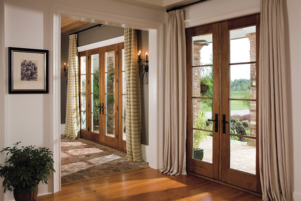 Small French Doors
