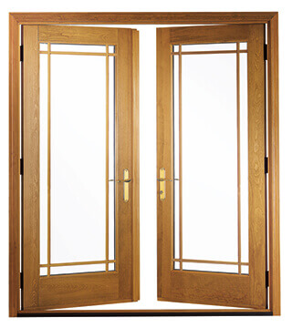 Pella French Patio Doors Building