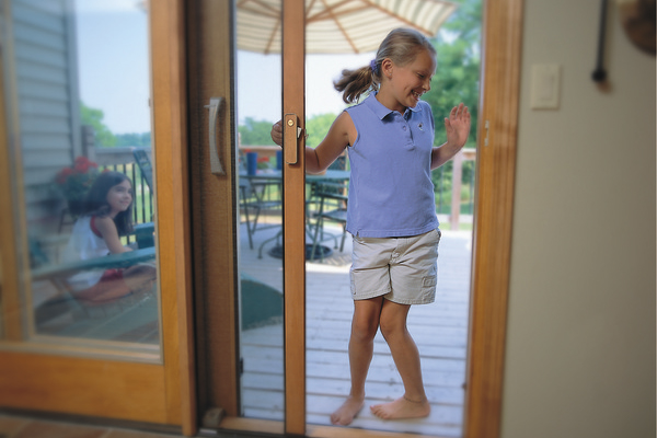 Screen sliding Glass Doors