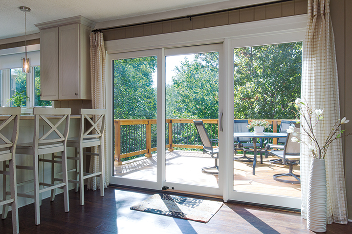 Sliding Glass Door Leading to Patio