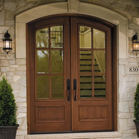 Replacement doors info options from your local pella for Wood doors with windows