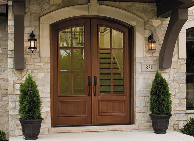 Wood Replacement Entry Doors - Pella Retail