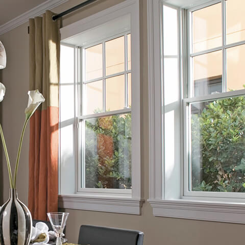 double-hung replacement windows